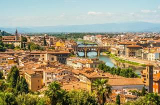 Von Rom: Zug nach Florenz & Uffizien ohne Anstehen