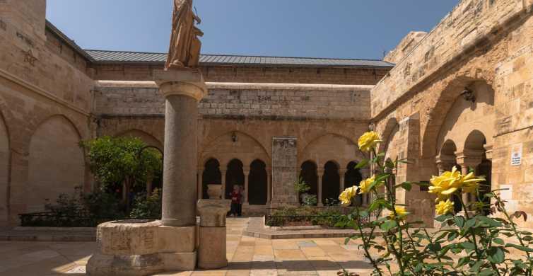Excursão a Belém, Jericó e Rio Jordão saindo de Jerusalém