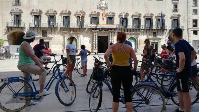 Alicante: recorrido destacado en bicicleta o bicicleta eléctrica