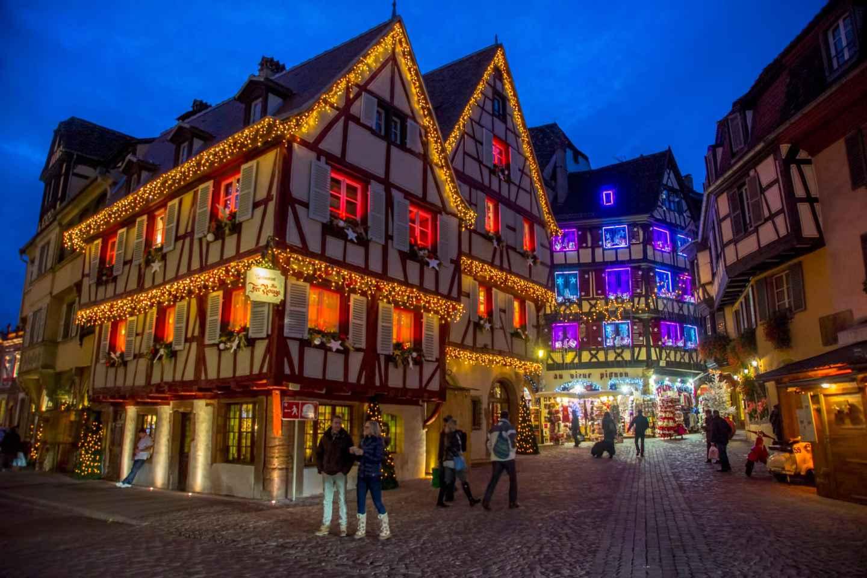 Ab Straßburg: Tagestour zu den Weihnachtsmärkten im Elsass