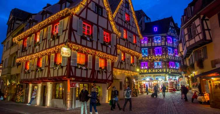 From Strasbourg: Alsace Villages Christmas Market Day Tour