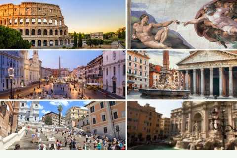 Rome: 1-day Tour With Luxury Car, Guide, Tickets, and Lunch
