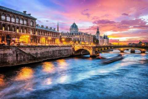 Paris: Dinner-Bootsfahrt auf der Seine