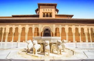 Granada: Alhambra & Generalife - Führung mit Vorzugseinlass