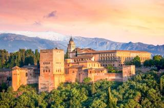 Alhambra: Ticket mit Audioguide