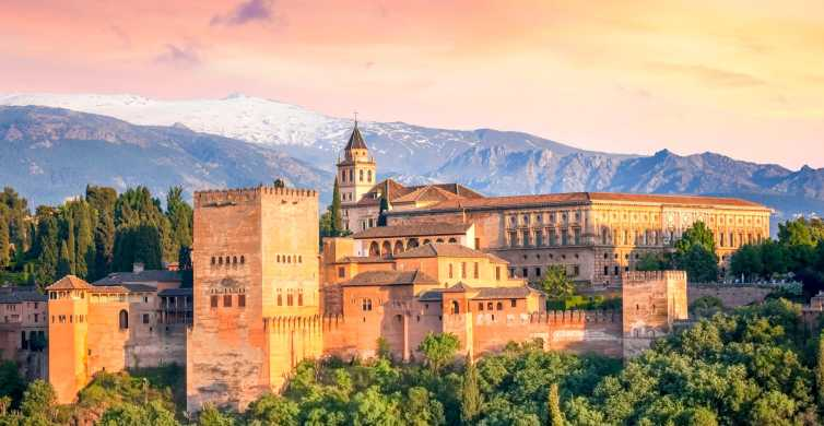 Alhambra: Ticket with Audio Guide