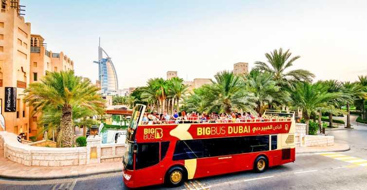 Dubai: Hop-on hop-off-busbillet med 3 valgmuligheder