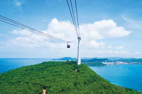 Phu Quoc: Cable Car Ride and 4 Islands Boat Tour with Lunch