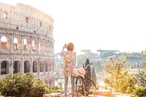 Roma: tour subterráneo del Coliseo, Foro Romano y colinas