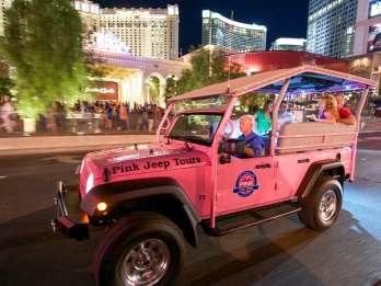 Funkelnde Lichter von Las Vegas: Stadtrundfahrt