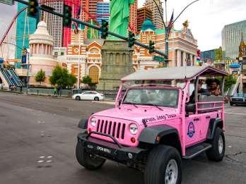 """Las Vegas Strip: Jeep-Tour und Riesenrad """"High Roller"""""""