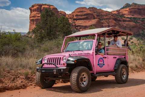 Sedona: Ancient Ruins Pink Jeep Tour