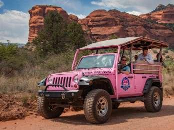 Sedona: Antike Ruinen Rosa Jeep Tour