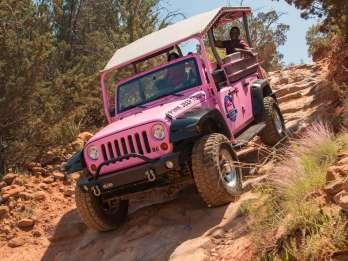 Sedona: Broken Arrow Pink Jeep Tour