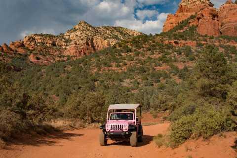 Sedona: Coyote Canyon Pink Jeep Tour
