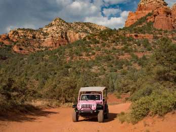 Ab Sedona: Tour durch den Coyote Canyon