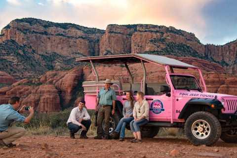 Sedona: Red Rock Range Pink Jeep Tour