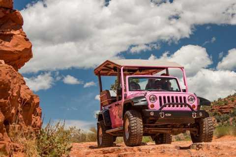 Sedona: Scenic Rim Pink Jeep Tour