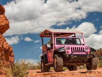 Sedona: Scenic Rim Pink Jeep-Tour