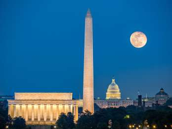 Washington, DC: Abend-Tour im Open-Top-Bus