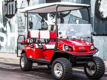 Nashville: Street Art und Instagram Golf Cart Tour
