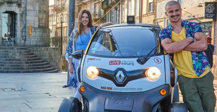 Porto: tour di scoperta a guida autonoma di 1 ora con guida GPS