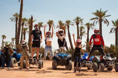 Palmeraie, Marrakech: 2-Hour Quad Biking with Tea Break