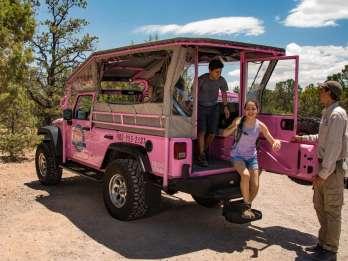 Ab Tusayan: Wanderung und Jeep-Tour Grand Canyon South Rim