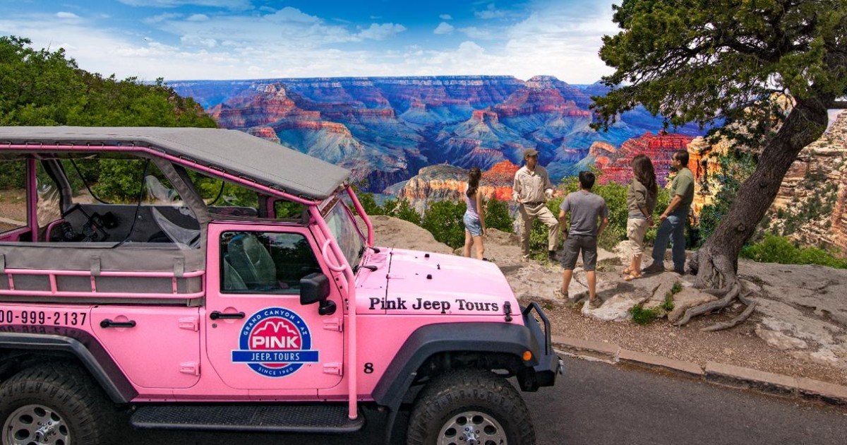 The Grand Entrance: Jeep Tour of Grand Canyon National Park
