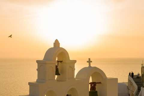 Fira: 4-Hour Evening Food and Drink Tour with a Local