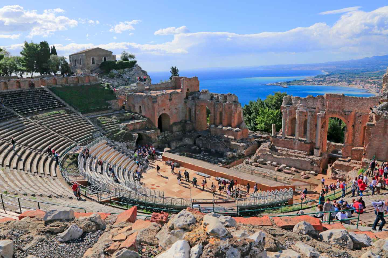 Tagesausflug nach Taormina/ Sizilien ab Tropea