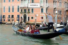 Grande Canal de Veneza: Passeio de Gôndola c/ Guia de Áudio