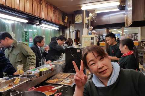 Osaka: All-Inclusive Night Foodie Cultural Extravaganza