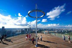 Singapura: Ingresso Sem Fila para o Marina Bay Sands SkyPark