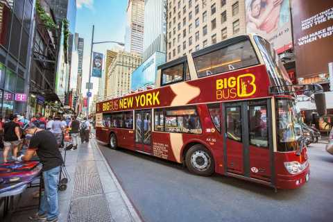 New York: Big Bus Hop-On Hop-Off Sightseeing Tour