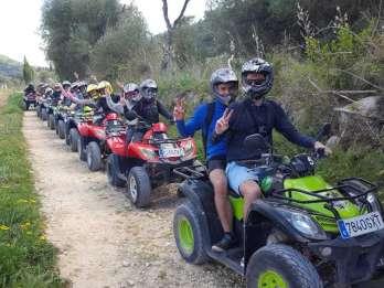 Mallorca: Quad-Abenteuer-Tour mit Klippenspringen