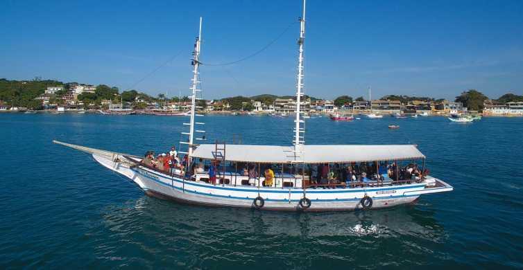 Búzios: Heldagstur med land og sjø med lunsj