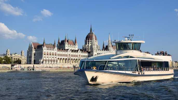 Budapest: crucero panorámico de día
