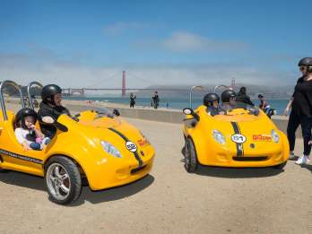 San Francisco: 3-stündige Frühbucher-GoCar-Tour