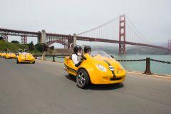 Excursão GoCar: Ponte Golden Gate e Lombard Street