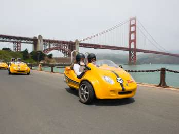 GoCar-Tour: Golden Gate Bridge & Lombard Loop