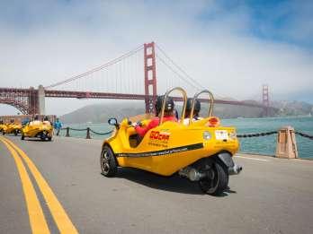 GoCar-Tour: Golden Gate Bridge & Lombard Loop