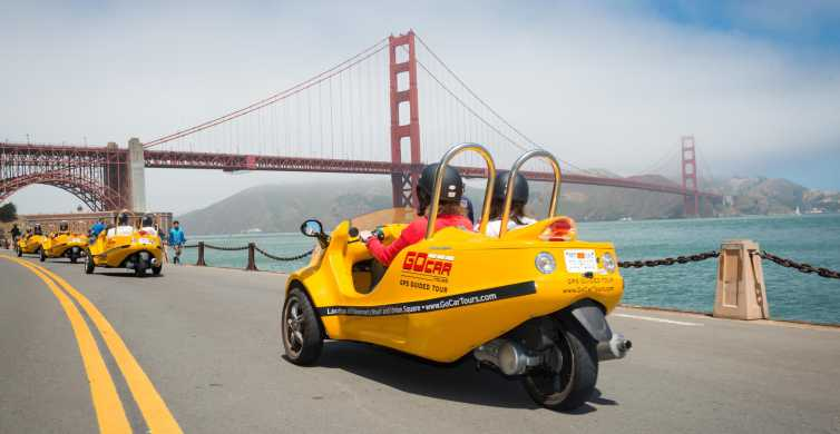 GoCar Tour: Golden Gate Bridge & Lombard Loop