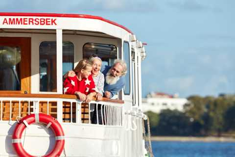 Hamburg: City Cruise on Alster Lake