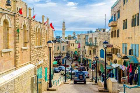 Tel Aviv/Jerusalem: Bethlehem Old City and Dead Sea
