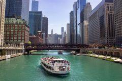 Rio Chicago: cruzeiro de arquitetura guiada de 1,5 horas