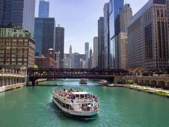 Chicago River: 1,5-stündige geführte Architekturkreuzfahrt