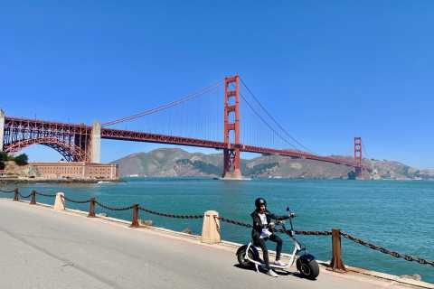 San Francisco:1-Hour GPS Guided Electric PHAT Scooter Tour