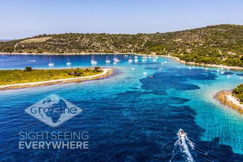 Blue Lagoon: 3 Island Small Group Speedboat Tour from Split