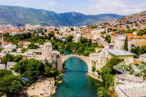 From Split or Trogir: Mostar Tour & Kravica Waterfall Entry
